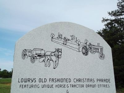 Artwork on the reverse of the marker image. Click for full size.