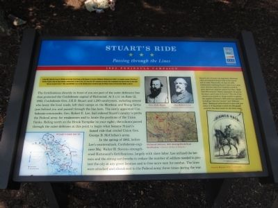 Stuart's Ride Marker image. Click for full size.