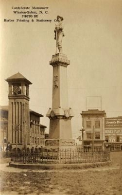 Our Confederate Dead Monument image. Click for full size.