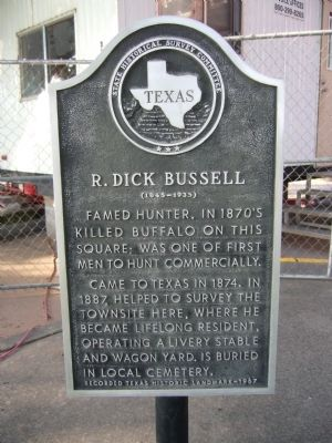 R. Dick Bussell Marker image. Click for full size.