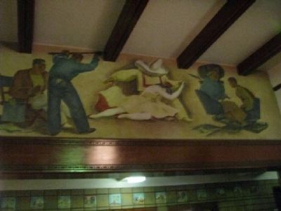 Burbank Post Office Mural image. Click for full size.