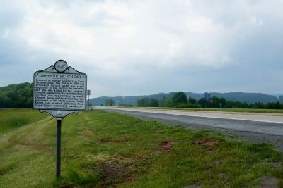 Greenbrier Ghost Marker image. Click for full size.