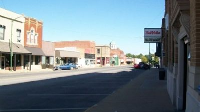 Looking East Along Main Street, Sabetha, Kansas image. Click for full size.