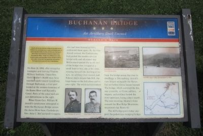 Buchanan Bridge CWT Marker image. Click for full size.