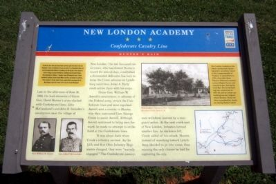 New London Academy CWT Marker image. Click for full size.