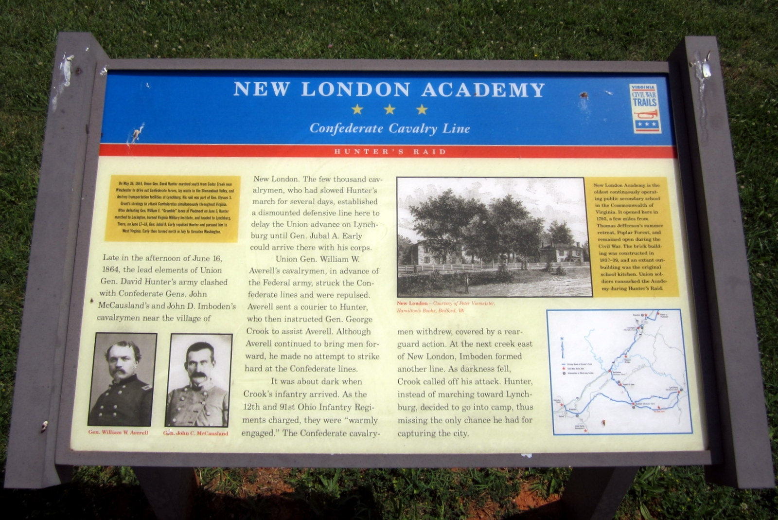 New London Academy CWT Marker