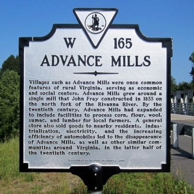 Advance Mills Marker image. Click for full size.