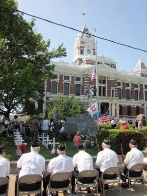 Johnson County - Memorial Day 2012 Honors image. Click for full size.