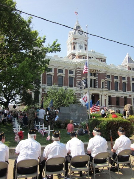 Johnson County - Memorial Day 2012 Honors