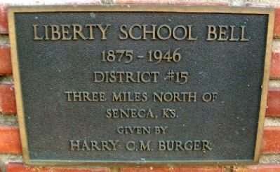 Liberty School Bell Marker image. Click for full size.