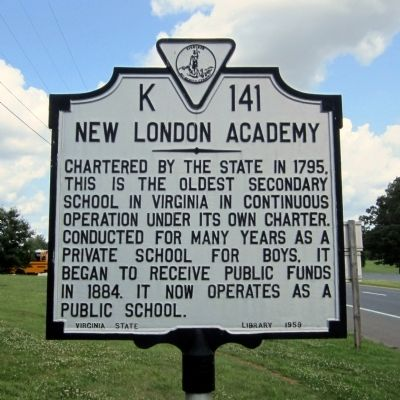 New London Academy Marker image. Click for full size.