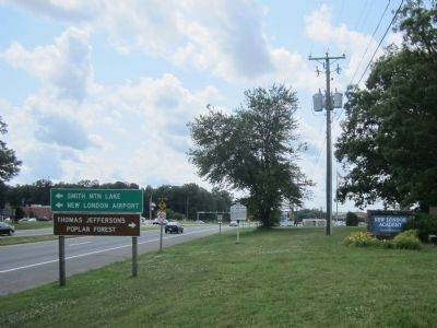 US Rt 460 (facing west) image. Click for full size.