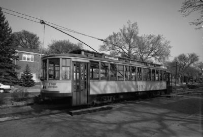 Como-Harriet Streetcar Line & Trolley Car No. 265 image. Click for full size.