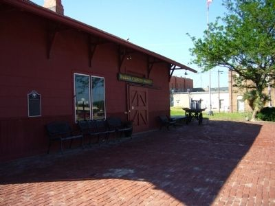 Miami Railroad Depot image. Click for full size.