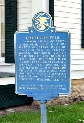 Lincoln in Polo Marker image. Click for full size.