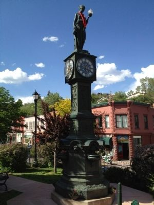 Wheeler Town Clock image. Click for full size.