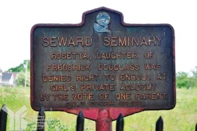 Seward Seminary Marker image. Click for full size.