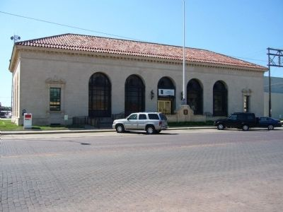 1934 Pampa Post Office Building image. Click for full size.