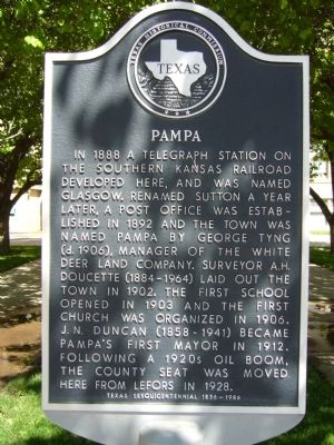 Pampa Marker image. Click for full size.