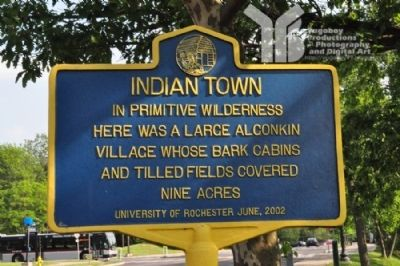 Indian Town Marker image. Click for full size.
