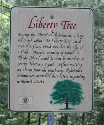 Liberty Tree Marker image. Click for full size.