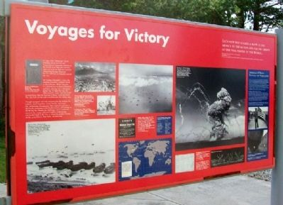 Voyages for Victory Marker image. Click for full size.