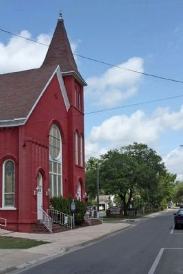 Mt. Pleasant United Methodist Church, Marker Sponsor image. Click for full size.
