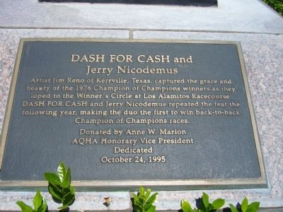 Dash for Cash Marker image. Click for full size.
