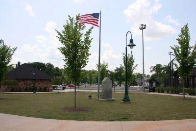 """Lest We Forget"" Marker in new location image. Click for full size."