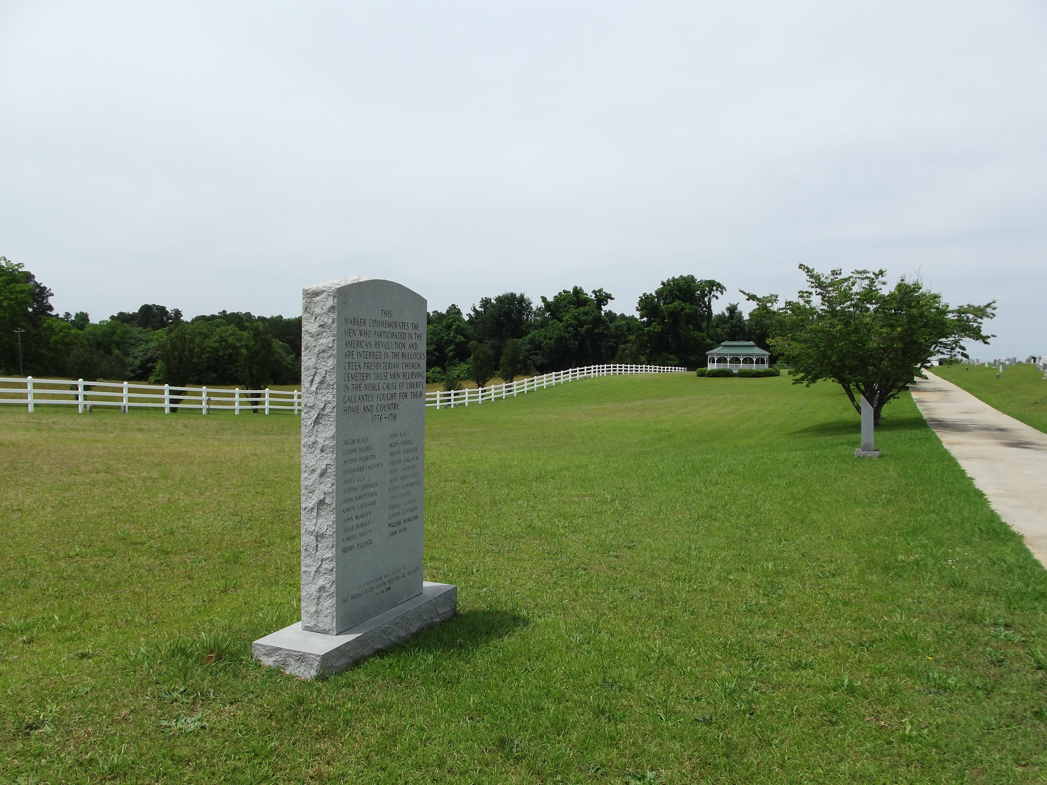 Bullock Creek Revolutionary War Monument Marker