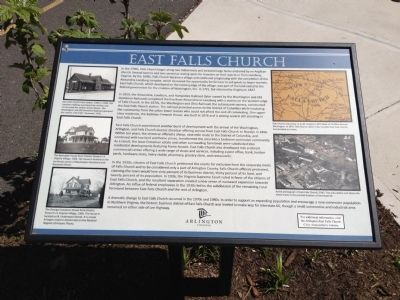 East Falls Church Marker image. Click for full size.