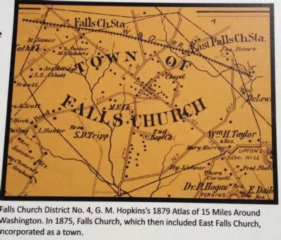 East Falls Church Map image. Click for full size.