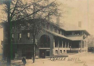 Historic Postcard<br>Eureka Hotel image. Click for full size.