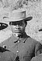 Sergeant John Ward, Seminole Scout image. Click for full size.