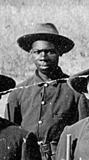 Trumpeter Isaac Payne, Seminole Scout image. Click for full size.