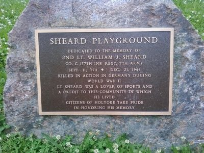 Sheard Playground Marker image. Click for full size.
