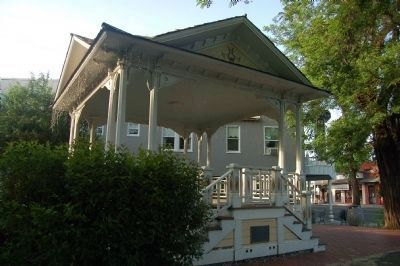 Weaverville Bandstand image. Click for full size.
