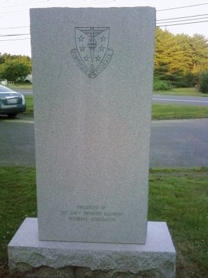 104th Infantry Regiment Marker image. Click for full size.