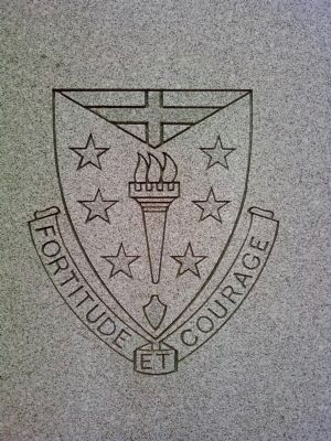 Detail from 104th Infantry Regiment Marker image. Click for full size.