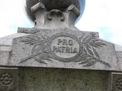Non-Repatriated Soldiers' Monument detail image. Click for full size.