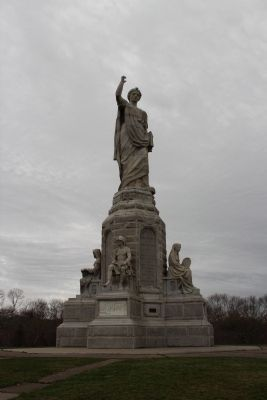 The National Monument to our Forefathers Marker image. Click for full size.