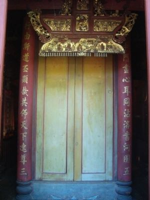 Weaverville Joss House Entrance image. Click for full size.