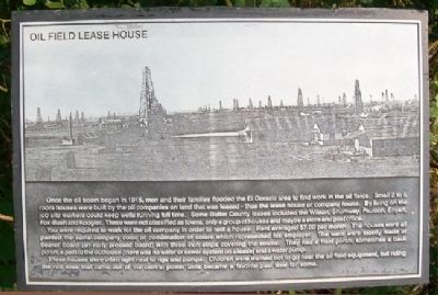 Oil Field Lease House Marker image. Click for full size.