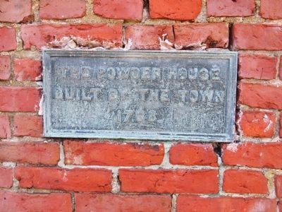 The Powder House Marker image. Click for full size.