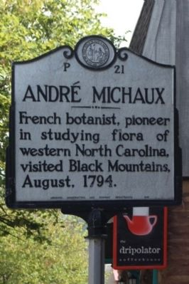 André Michaux Marker image. Click for full size.