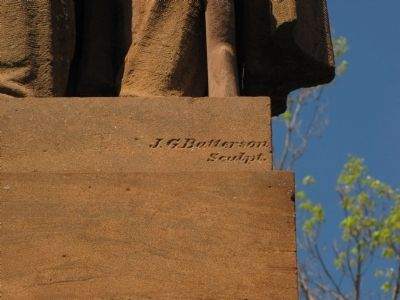 Detail Showing Sculptor Name image. Click for full size.