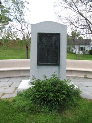 World War I Memorial Marker image. Click for full size.
