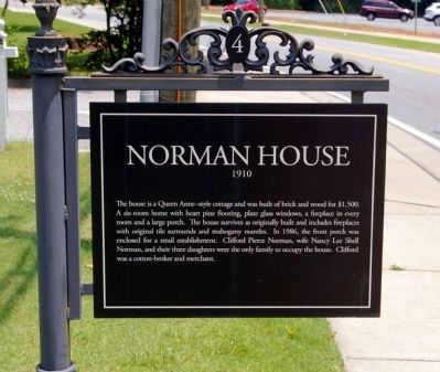 Norman House Marker image. Click for full size.
