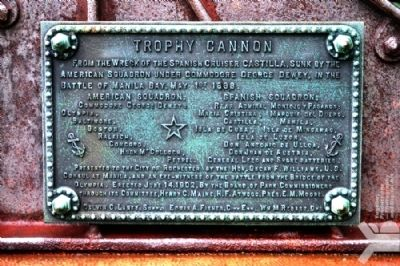 Trophy Cannon Marker image. Click for full size.