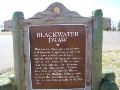 Blackwater Draw Marker image. Click for full size.
